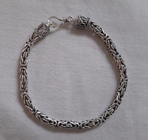 【送料無料】ブレスレット クリエイションビザンチントルサードアルジェントagnes creations braceletgourmette mixte torsade byzantine en argent 925