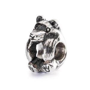 【送料無料】ブレスレット シルバーオリジナルビーズtrollbeads original beads in argento orso bruno tagbe20056