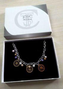 【送料無料】ブレスレット ネックレスcollana tsc jewels ragazza donna idea regalo ta218