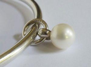 【送料無料】ブレスレット シルバービーズパールタッセルタラoriginal trollbeads, silver bead *pearl tassel*, cod tagbe00010
