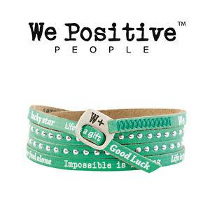 【送料無料】ブレスレット ポジティブエメラルドカフwe positive bracciale smeraldo hd007