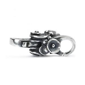 【送料無料】ブレスレット オリジナルシルバーtrollbeads original authentic chiusura argento bocciolo di ninfea taglo00048