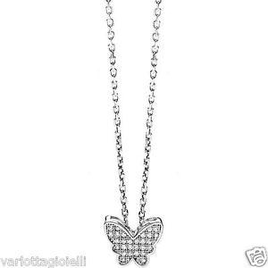 【送料無料】ブレスレット アンブロシアネックレスバタフライシルバーambrosia aag 082 collana farfalla argento