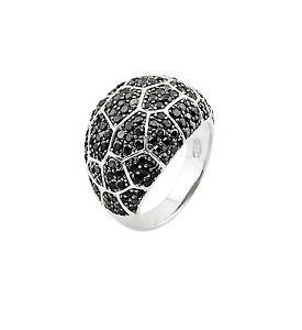 【送料無料】ブレスレット シルバーリングブラック2 jewels anello argento zirconi neri 2jewels 223061 89