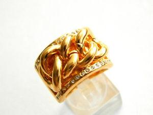 【送料無料】ブレスレット リングホワイトゴールデンfrida nyberg donnaanello dorato bianco rg 56 17,8 1910042125