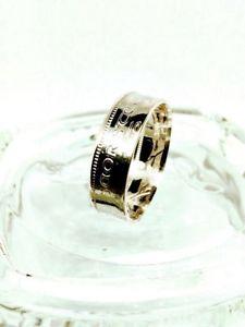 【送料無料】ブレスレット コインリングシルバーmoneta dargento irlandese scilling anello 750 argento