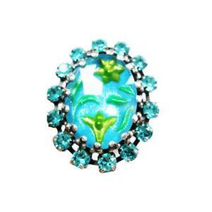 【送料無料】ブレスレット シノワズリーリングkonplott chinoiserie ring blu verde 3730