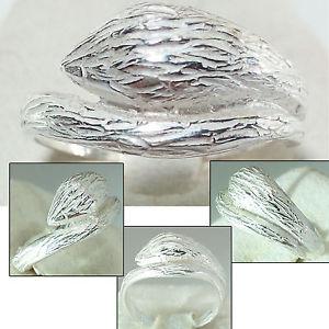 【送料無料】ブレスレット anello donna in argento 925 serpente fatto a mano a69