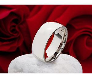 【送料無料】ブレスレット リングステンレスリングクラシックリングリング1 anello classica anello da donna uomo anello in acciaio inox anello incisione re09