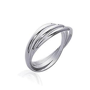 【送料無料】ブレスレット アルジェントヌフbague 3 anneaux en argent 925 neuf taille 54 disponible