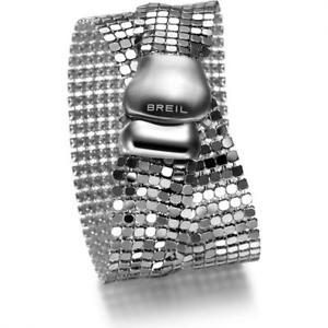 【送料無料】ブレスレット カフスチールシルクスチールダブルドンbracciale donna breil steel silk tj1227 acciaio luicido doppio indosso small