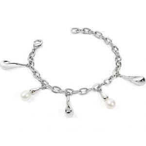 【送料無料】ブレスレット ブレスレットペンダントbracciale morellato donna perla pendente cristalli sxu13