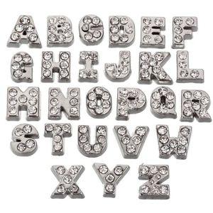 本店は 【送料無料】ブレスレット チェコクリスタルフローティングガラスアルファベットレターバッチrubyca cristallo ceco floating charms alfabeto az lettere lotto per vetro g4a, くまたんの店 aa5638b4