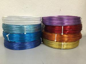 【送料無料】ブレスレット ワイヤーカラーアルミコイルfilo alluminio colorato mm2 in bobina kg1