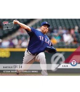 Verzamelingen 2018 Topps NOW MLB 298 Jose Berrios 10 Ks in 2nd CG of the Season