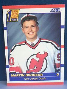 【送料無料】スポーツ メモリアル カード 199091 score439 martin brodeur rookie card199091 score 439 martin brodeur rookie card