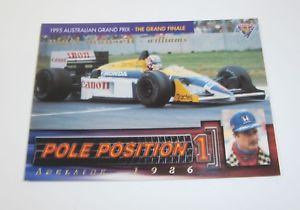 【送料無料】スポーツ メモリアル カード 1995futeraオーストラリアf1グランプリカードpp2ナイジェルマンセル1995 futera australian f1 grand prix pole position card pp2 nigel mansell