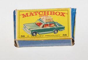 【送料無料】模型車 モデルカー スポーツカー マッチシリーズフィアットオリジナルボックスmatchbox serie 175 56 fiat 1500 nur die originale box