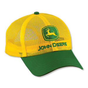 【送料無料】模型車 モデルカー スポーツカー ジョンディアイエローキャップフルメッシュjohn deere *yellow amp; green* all full mesh summer cap hat *brand *