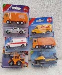 【送料無料】模型車 モデルカー スポーツカー スケールコレクションシールsiku 172 scale collection of 7 sealed vehicles