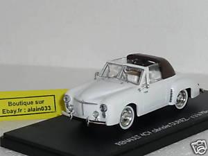 【送料無料】模型車 モデルカー スポーツカー ルノーvraie renault 4cv duriez a la milord de 1950 eligor 143 101171