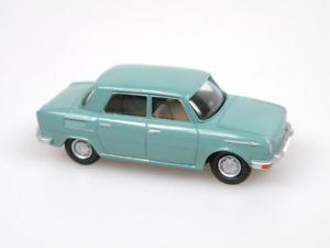 【送料無料】模型車 モデルカー スポーツカー シュコダモデルターコイズスケールvv model vv1378 skoda s100 1969 trkis mastab 187