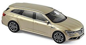 【送料無料】模型車 モデルカー スポーツカー ルノーデューンベージュメタリックrenault talisman estade 201618 dune beige metallic 143 norev