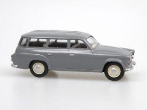 【送料無料】模型車 モデルカー スポーツカー モデルシュコダコンビスケールvv model vv1705 skoda kombi s1202 dklgrau 1961 mastab 187