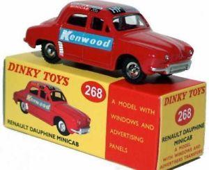 【送料無料】模型車 モデルカー スポーツカー ルノーミニキャブアトラスdinky toys 268 renault dauphine minicab 143, atlas