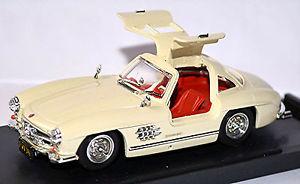 【送料無料】模型車 モデルカー スポーツカー メルセデスベンツガルウィングホワイトmercedesbenz 300 sl w 198 gullwing 195457 wei white 143
