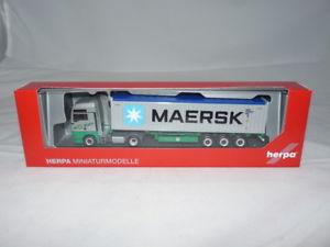【送料無料】模型車 モデルカー スポーツカー herpa 308441 man tgx xxl euro 6c containersattelzug ekb maersk neu ovp