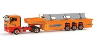 【送料無料】模型車 モデルカー スポーツカー コンクリートherpa h0 156240 man tgx xl betonteiletransporter вautransa