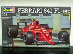 【送料無料】模型車 モデルカー スポーツカー キットディフェラーリrevell kit di montaggio 124 7228 f1 ferrari 641 prost 1990 mib, 2001