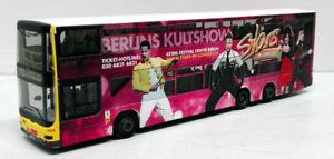 【送料無料】模型車 モデルカー スポーツカー バスライオンシティコンサートrietze 67779 bus man lion's city dl07 bvg stars in concert 187