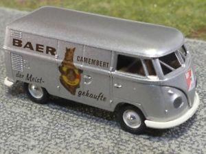 【送料無料】模型車 モデルカー スポーツカー #ベアーカマンベールスイス187 brekina 0803 vw t1 b baer camembert schweiz ch