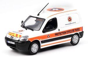 【送料無料】模型車 モデルカー スポーツカー プジョーパートナーpeugeot partner protection civile eligor