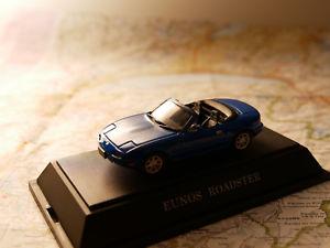 【送料無料】模型車 モデルカー スポーツカー ユーノスロードスターダイカストebbro eunos roadster art109 diecast 143