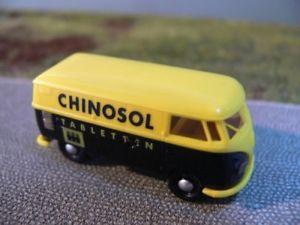 【送料無料】模型車 モデルカー スポーツカー #187 brekina 0319 vw t1 a chinosol tabletten