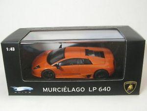 【送料無料】模型車 モデルカー スポーツカー lamborghini murcielago lp 640 orange