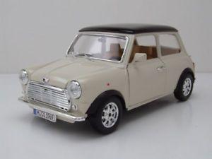 【送料無料】模型車 モデルカー スポーツカー ミニクーパーベージュブラックモデルmini cooper 1969 beigeschwarz, modellauto 118 burago 116