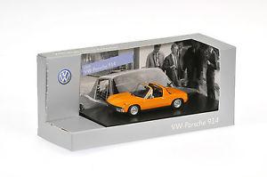 【送料無料】模型車 モデルカー スポーツカー フォルクスワーゲンポルシェオレンジoriginal vw porsche 914 1969 signalorange 143 811099300 k2y neu