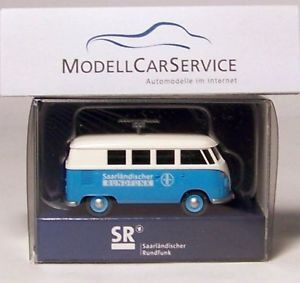 【送料無料】模型車 モデルカー スポーツカー モデルフォルクスワーゲンバスラジオワゴンwiking sondermodell vw t1 bus funkwagen saarlndischer rundfunk