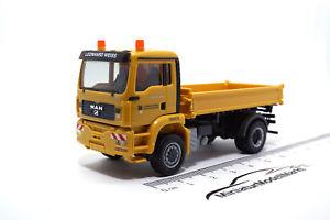 【送料無料】模型車 モデルカー スポーツカー キッパーワイス932042 herpa man tga kipper leonhard weiss 187