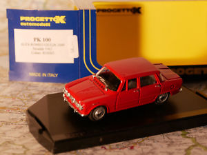 【送料無料】模型車 モデルカー スポーツカー アルファロメオジュリアダイカストalfa romeo giulia 1600 stradale 1962 artpk r100  diecast 143