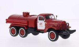 【送料無料】模型車 モデルカー スポーツカー スケールモデルzil 157, rotweiss, feuerwehr, 143, start scale models