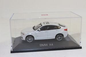 【送料無料】模型車 モデルカー スポーツカー ミネラルホワイトメタリックボックスherpa 070911 bmw x4, mineralwei metallic 143 neu in ovp