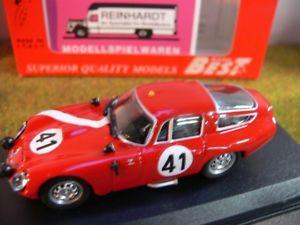 【送料無料】模型車 モデルカー スポーツカー ベストアルファロメオルマンサラ#143 best 9097 alfa romeo tz1 le mans 1964 biscaldi sala 41