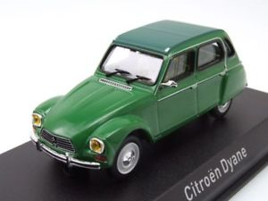 【送料無料】模型車 モデルカー スポーツカー シトロエングリーンモデルカーcitroen dyane 1974 grn, modellauto 143 norev