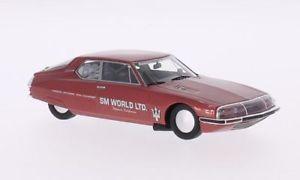 【送料無料】模型車 モデルカー スポーツカー シトロエンスピードトライアルボンネビルネオcitroen sm, 63, sm world ltd, land speed trials, bonneville, 143, neo