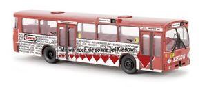 【送料無料】模型車 モデルカー スポーツカー メルセデスベンツバスbrekina 50762 187 mercedesbenz o 305 bus hha kiesow neu